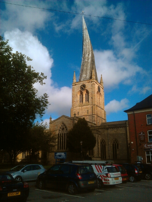 Crooked Spire Chesterfield.