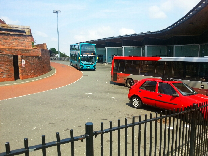 Macclesfield Bus Station