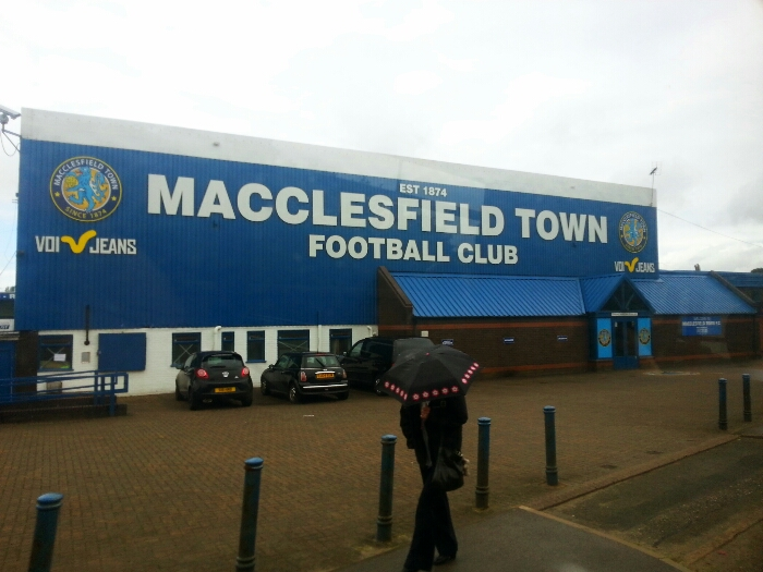 Passes Macclesfield Town Football Club