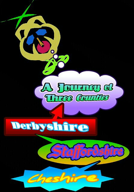 A bus ride through 3 counties Derbyshire. Staffordshire and Cheshire