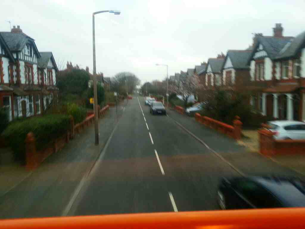 Central Drive Lytham St Annes on a 68 bus