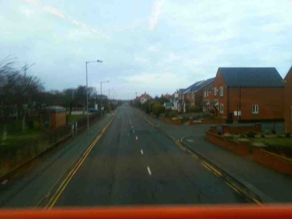 Worsley Rd Lytham St annes on a 68 bus