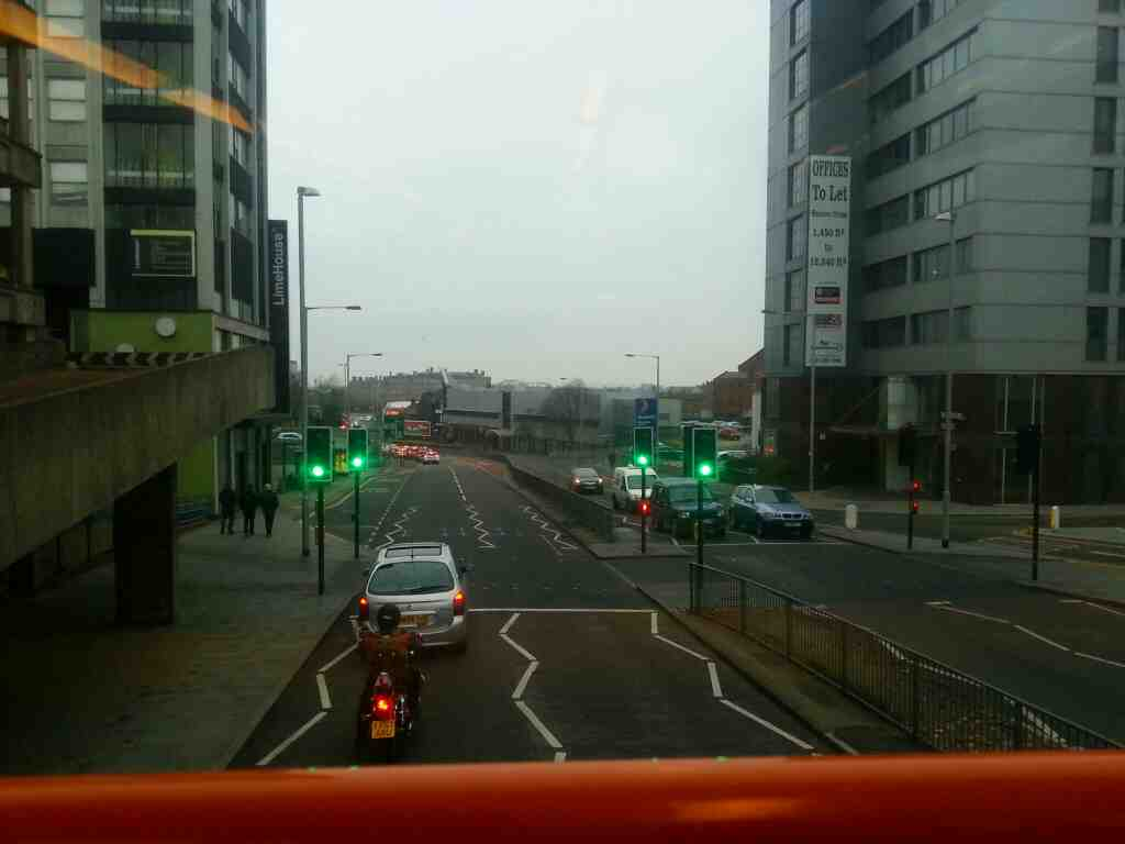 Ring Way Preston on an 68 bus