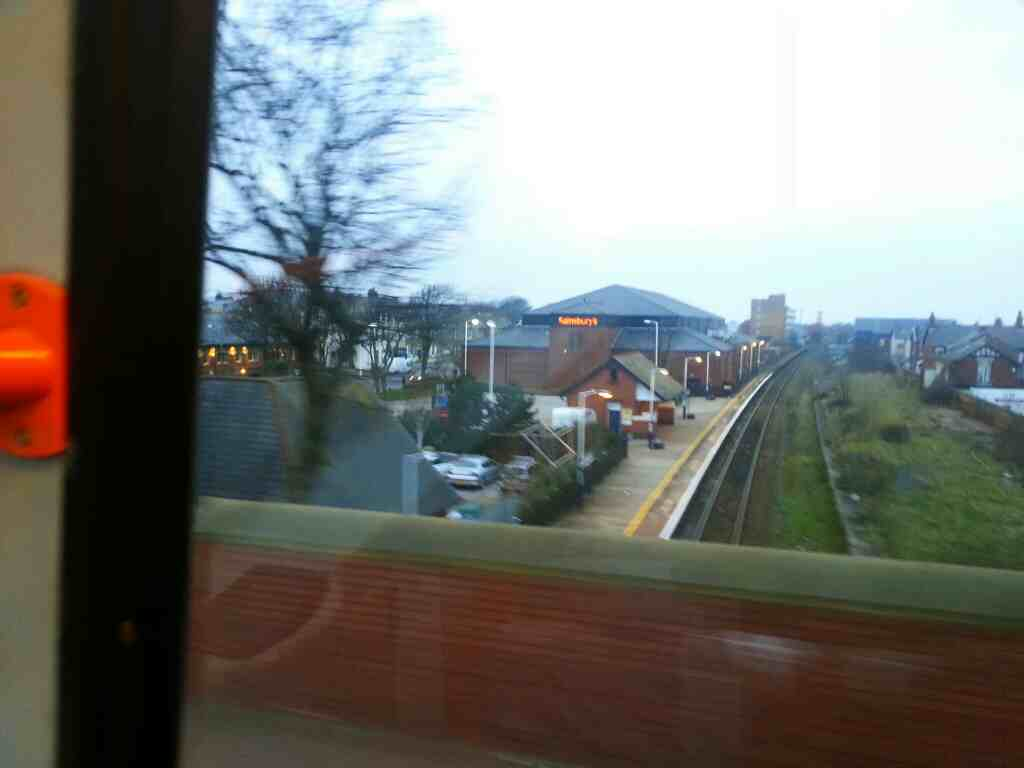 St Annes On Sea Station from a 68 bus