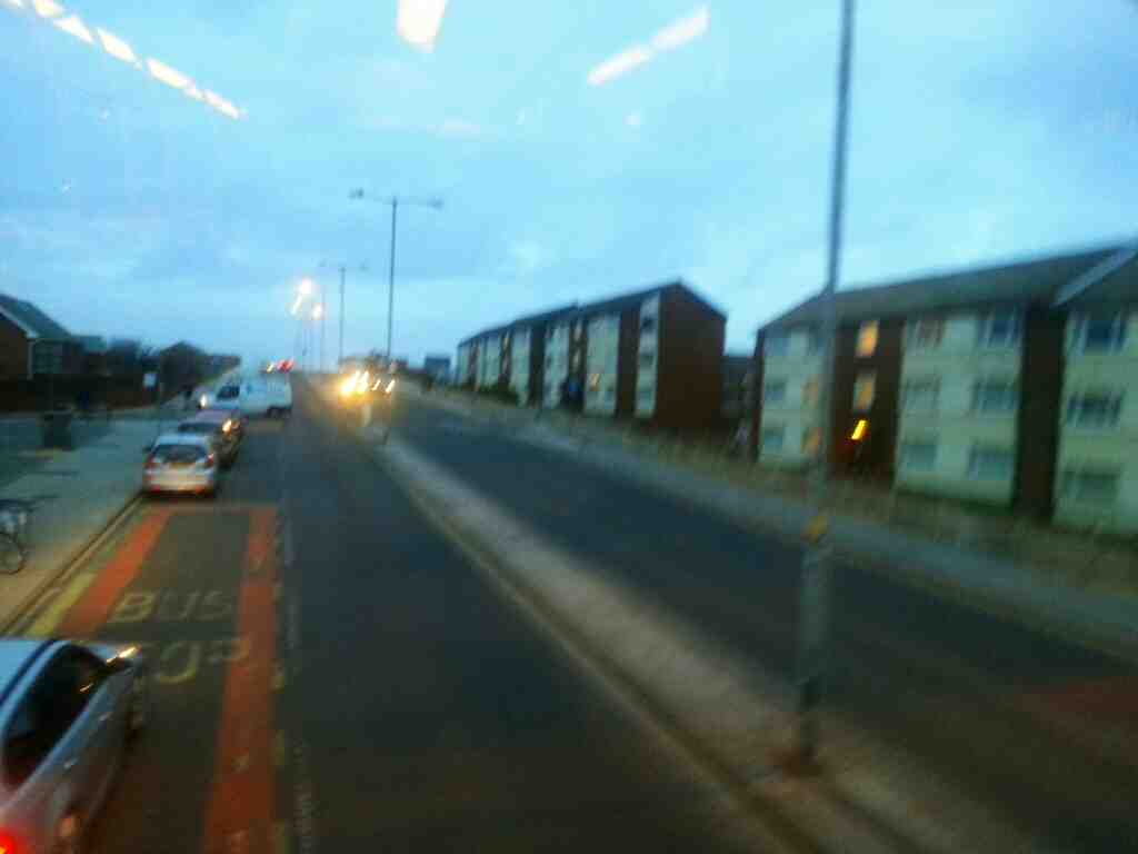 Squires Gate Lane on a 68 bus
