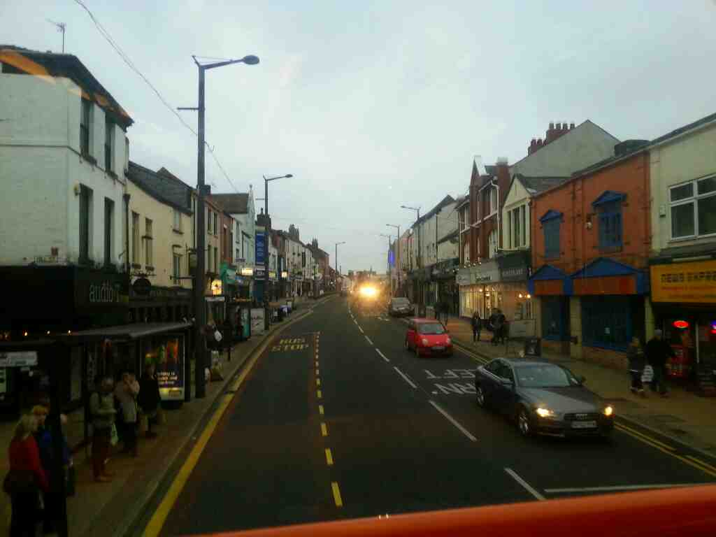 Friargate Preston on a 68 bus