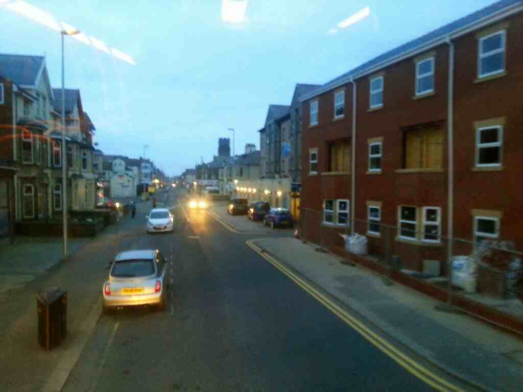 Bond St Blackpool on a 68 bus
