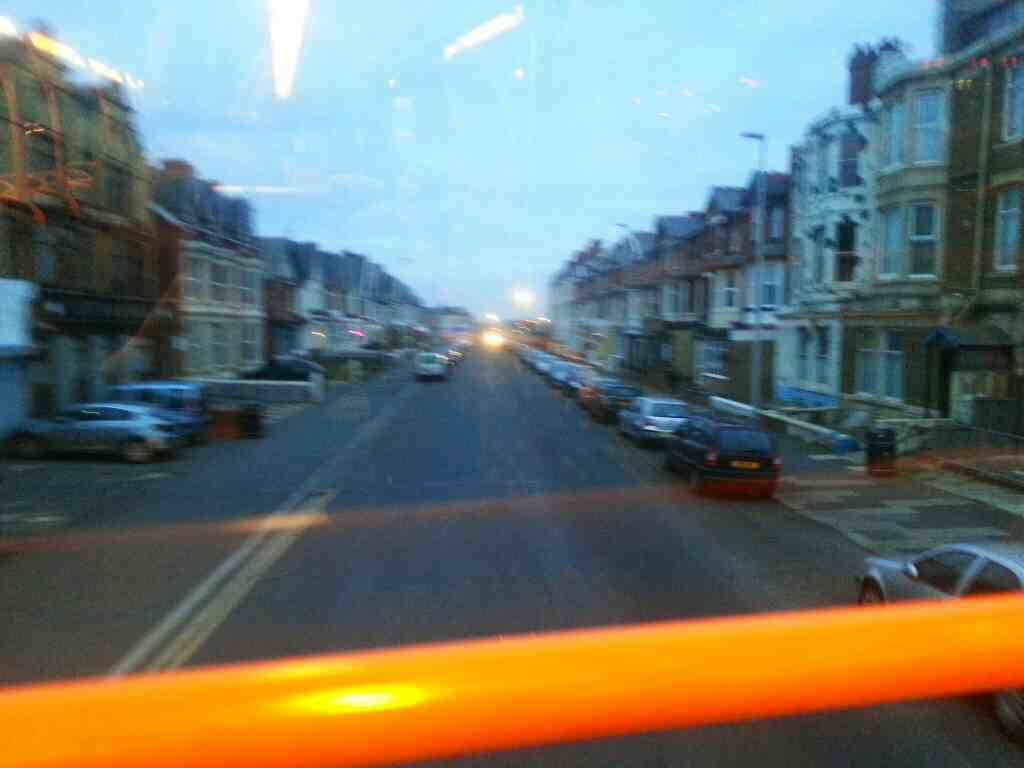 Station Rd Blackpool on a 68 bus