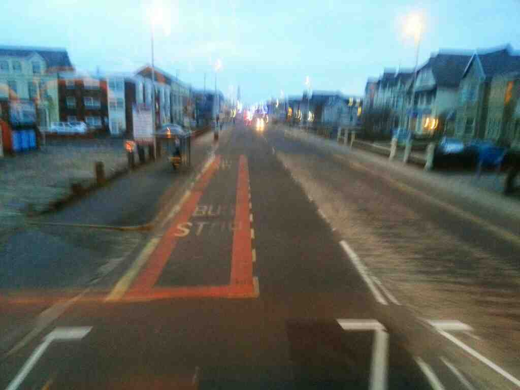 Heading down Lytham Rd Blackpool on a 68 bus from Preston