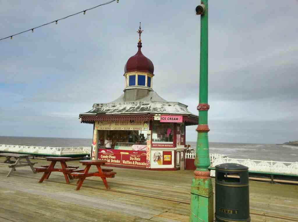 Jennys Ice Cream Stall North Pier Blackpool