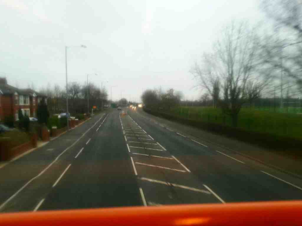 Picture taken off a 68 bus bound for Blackpool on Blackpool road