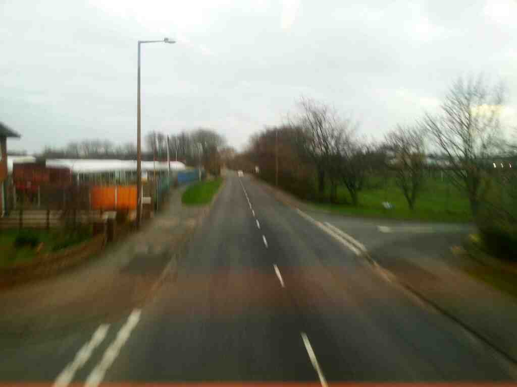 Picture taken off a 68 bus traveling a Mythop Rd Lytham