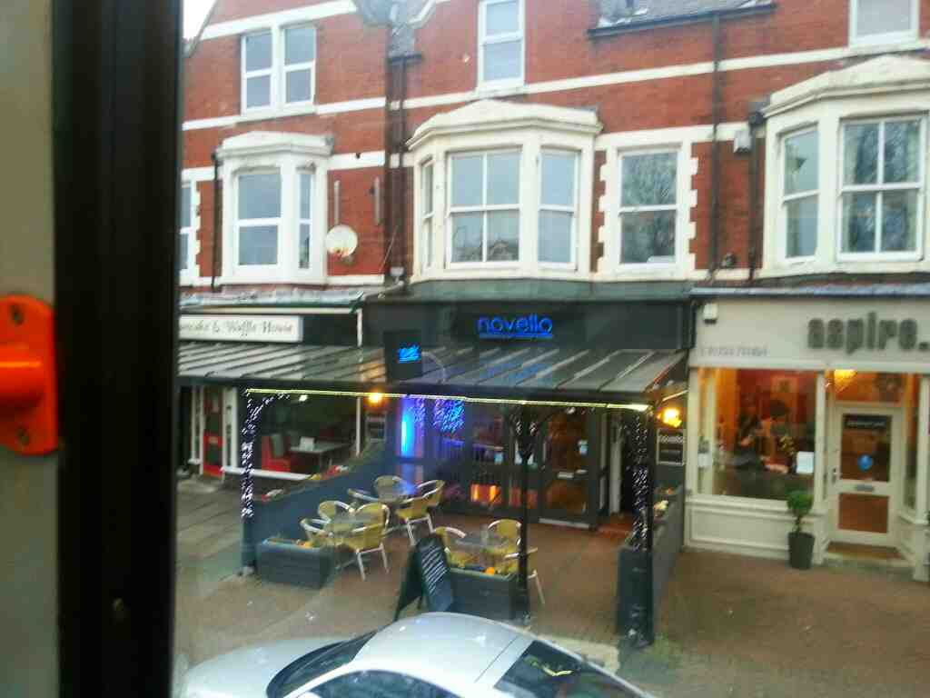 68 bus passes the Novello Italian Restaurant Clifton St Lytham