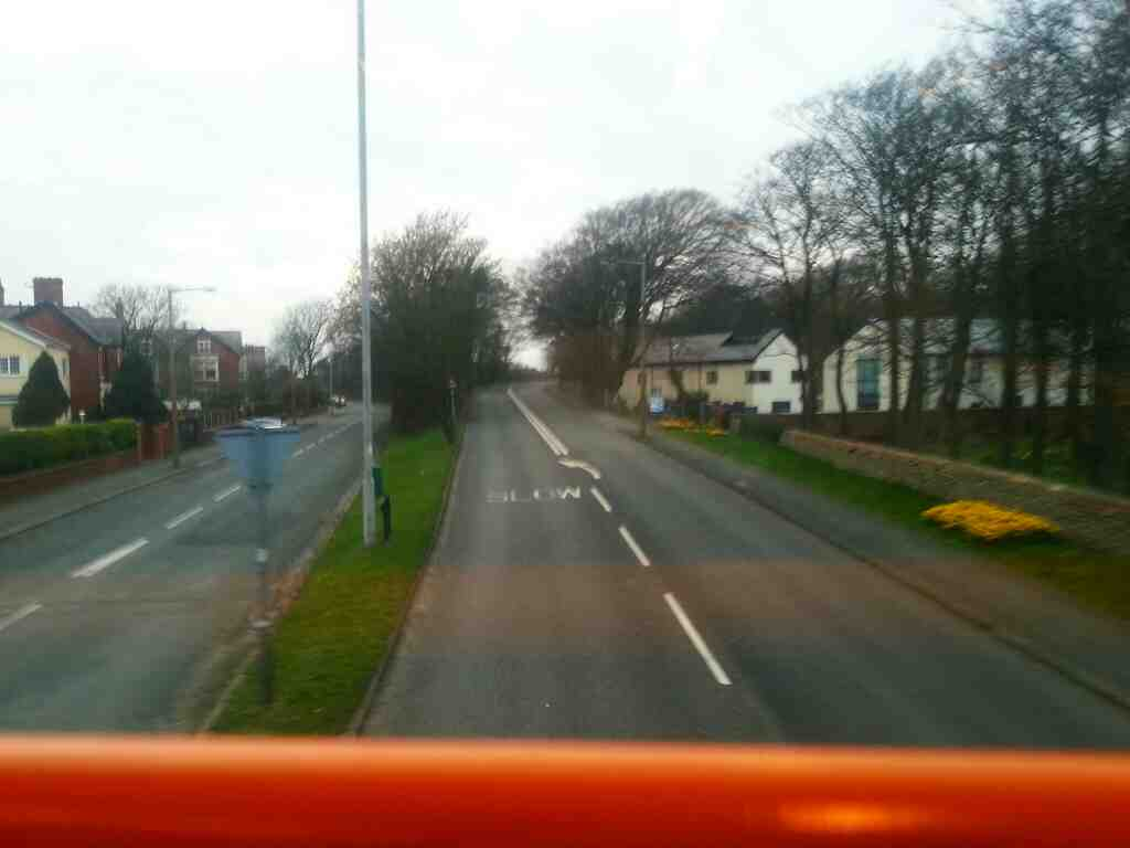 Junction of Church Rd Blackpool Rd and Cambridge Rd Lytham on a 68 bus