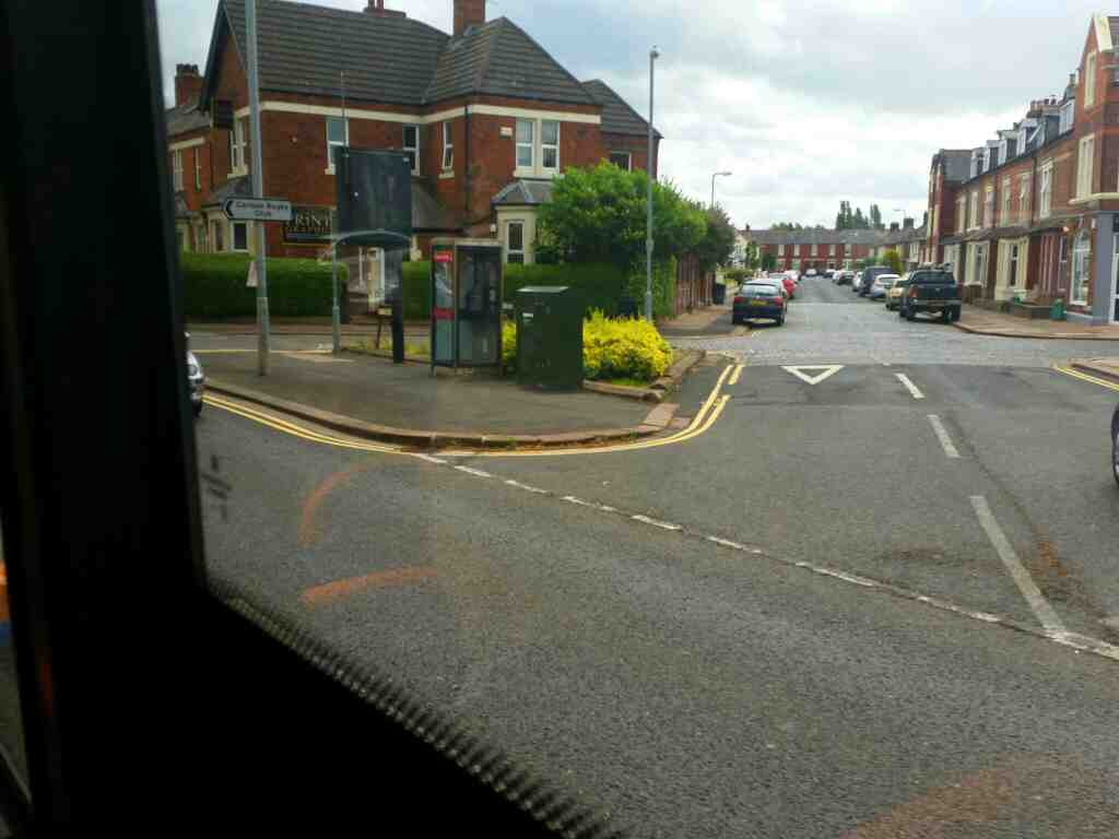 Junction of Warwick Road the A69 and Brunton Avenue Carlisle on a 685 Carlisle Newcastle