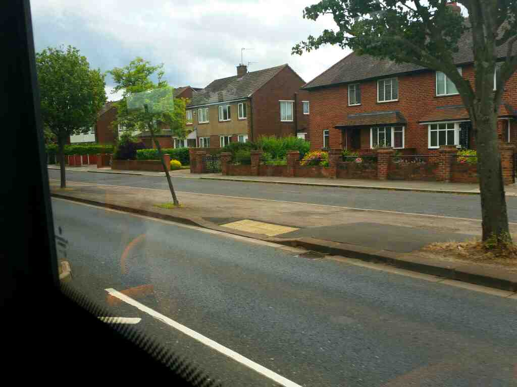Heading out of Carlisle on Warwick Rd the A69 on a 685 Carlisle Newcastle