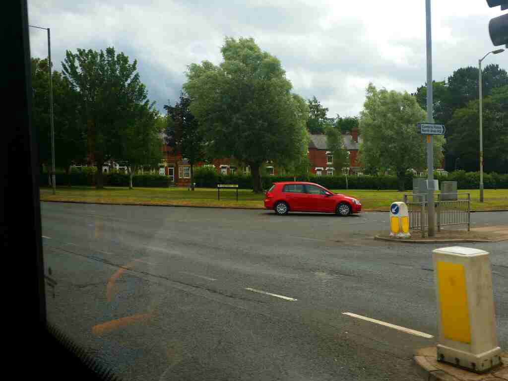 Junction of Eastern Way and Warwick Rd the A69 Carlisle on a 685 Carlisle Newcastle