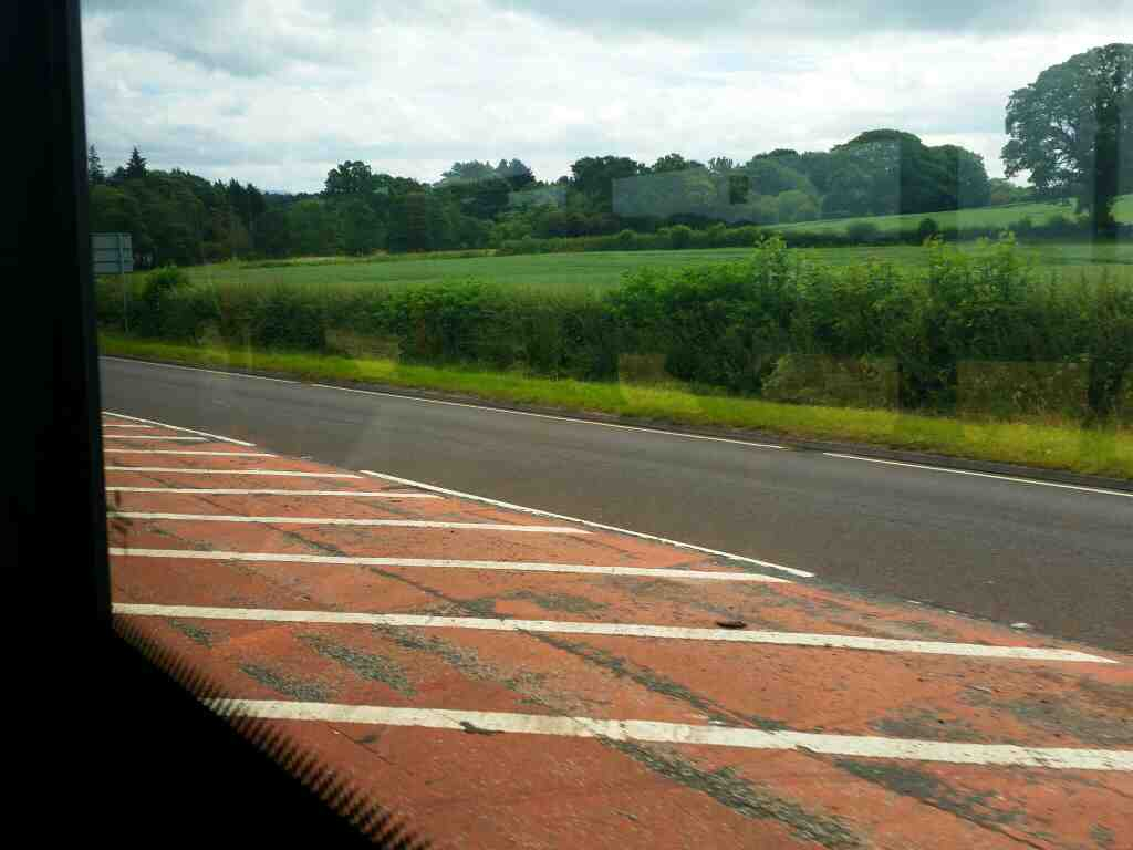 Heading away from Carlisle on the A69 on a 685 Carlisle Newcastle