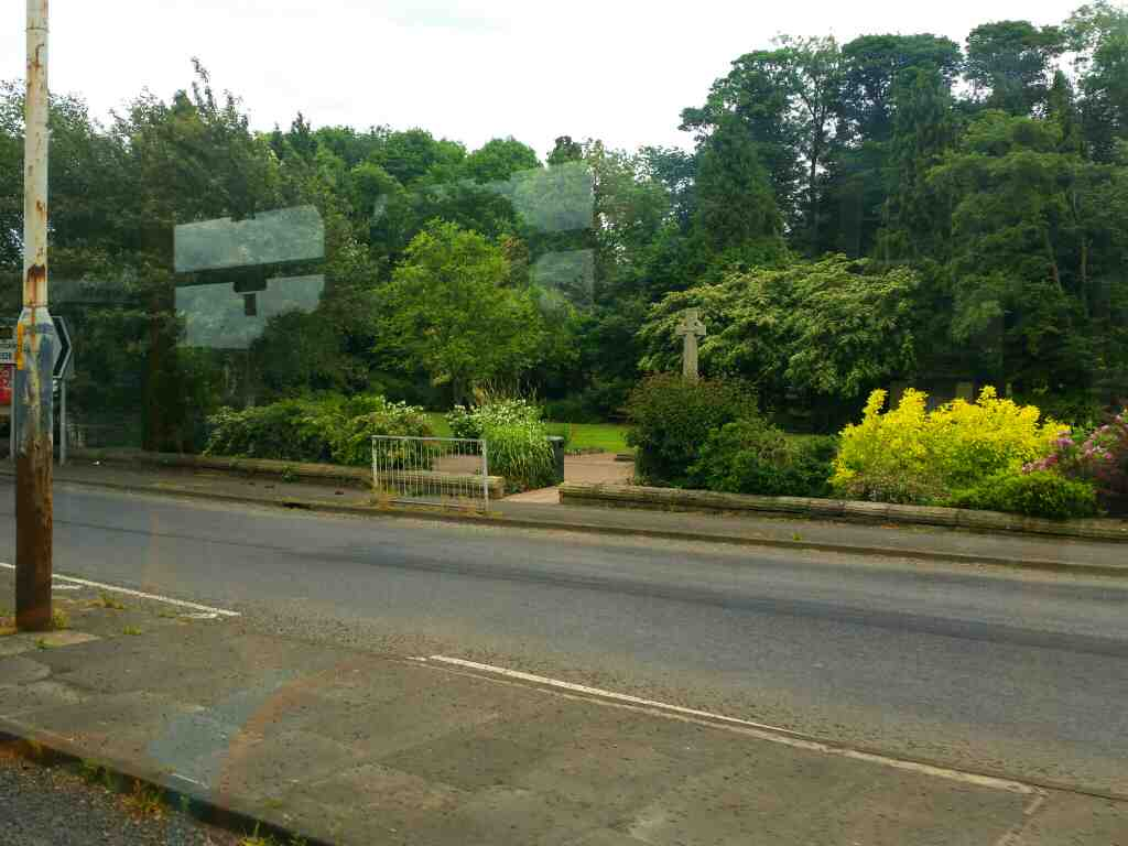 Hexham Rd Heddon on the Wall on a 685 Carlisle Newcastle bus