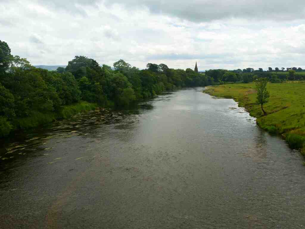 Crossing the River Eden on the A69 on a 685 Carlisle Newcastle