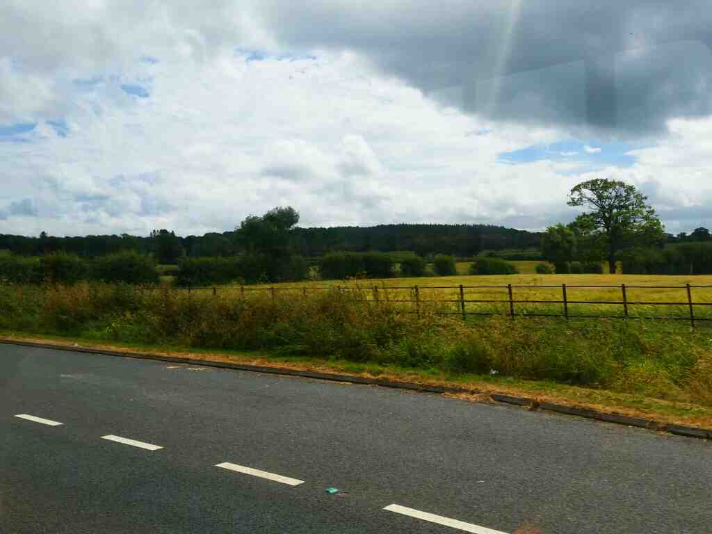 Scenery off the A69 on a 685 Carlisle Newcastle
