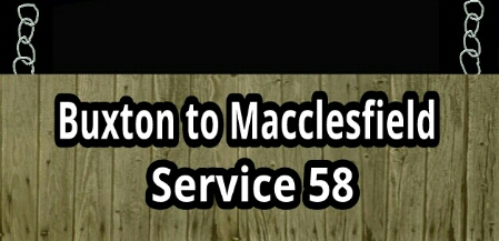 Buxton to Macclesfield service 58
