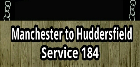 Manchester to Huddersfield service 184