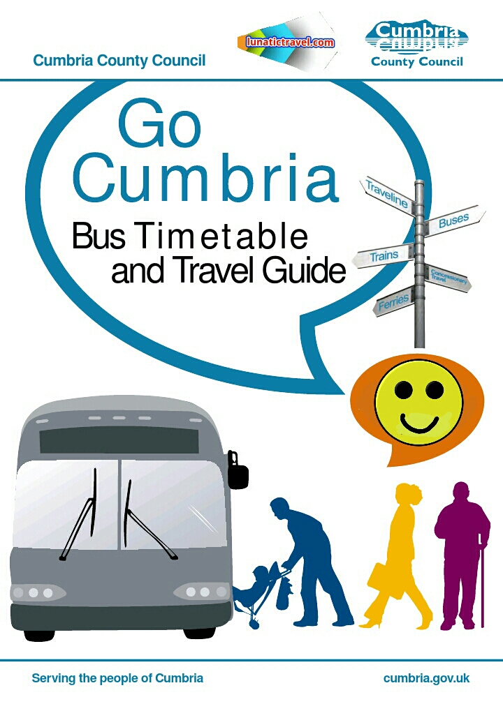 Go, Cumbria, bus, ferry, guide, times, timetable, travel.