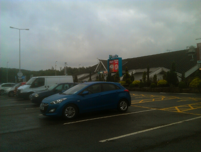 Wooley edge service station
