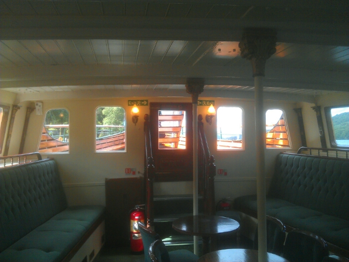 Front cabin of the Tern.