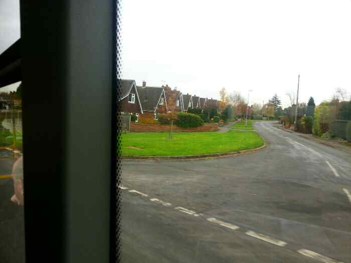 Passing Turvey Lane on The Green Long Whatton
