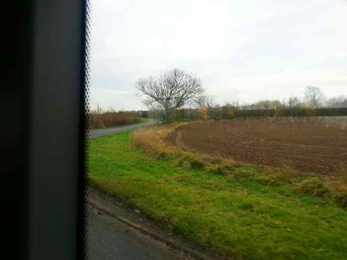 Hathern Rd Long Whatton on a Skylink Bus