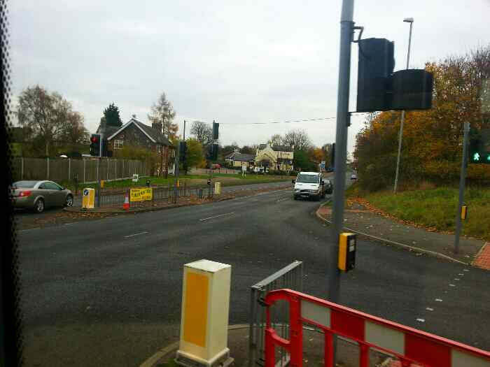 Junction of Whatton Rd and Derby Rd the A6