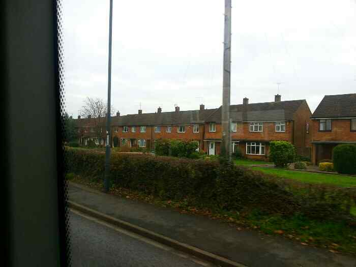 Traveling along Shardlow Road