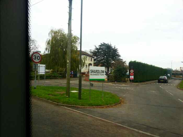 Entering Shardlow on the B5010