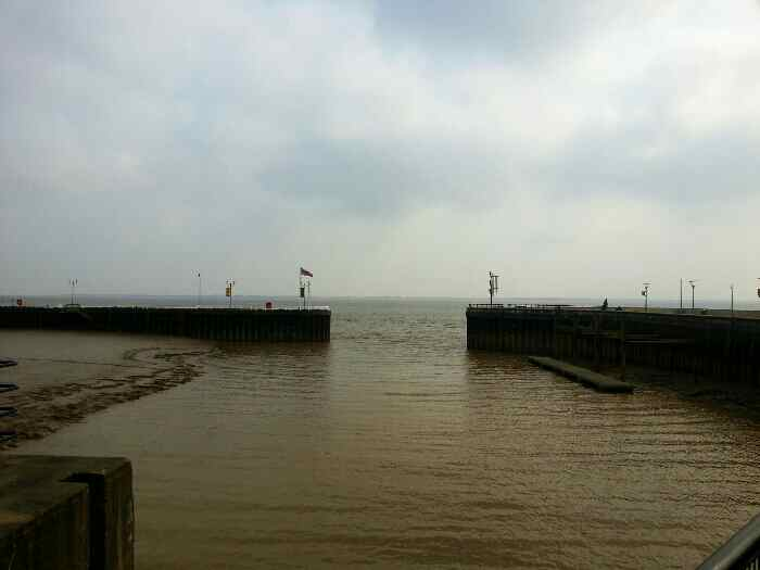 Looking into the Humber Estuary