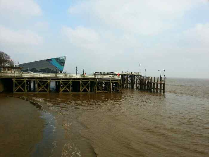 The pier used to be where the Humber Ferry docked after sailing from New Holland on the south bank of of the Humber