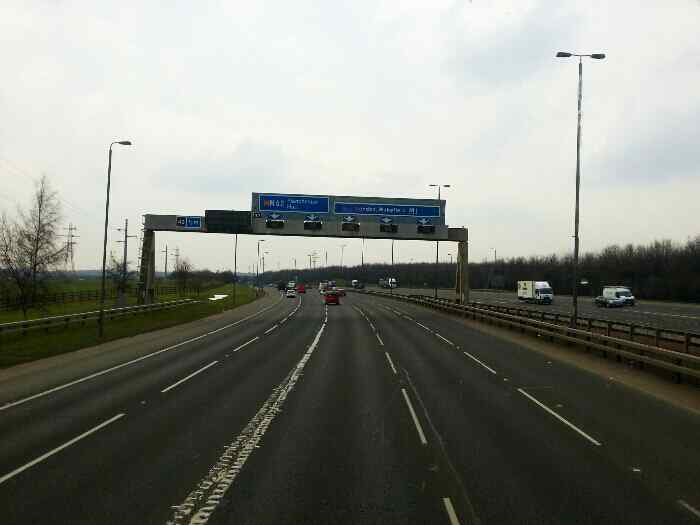 Road to the M62