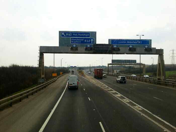 Leaving the M1