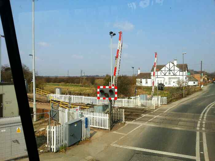 Level Crossing at Whitley Bridge