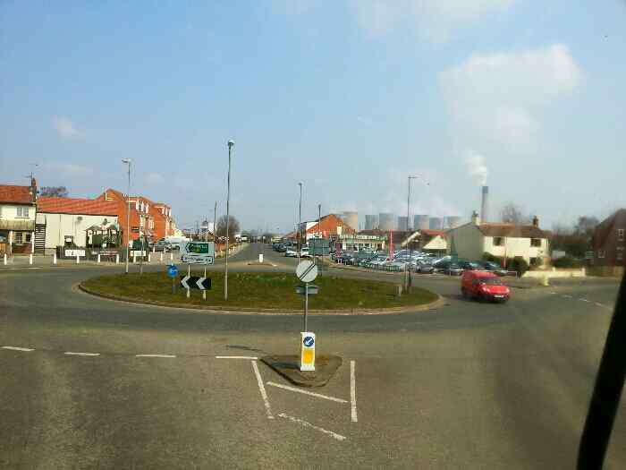 The Roundabout at Eggborough