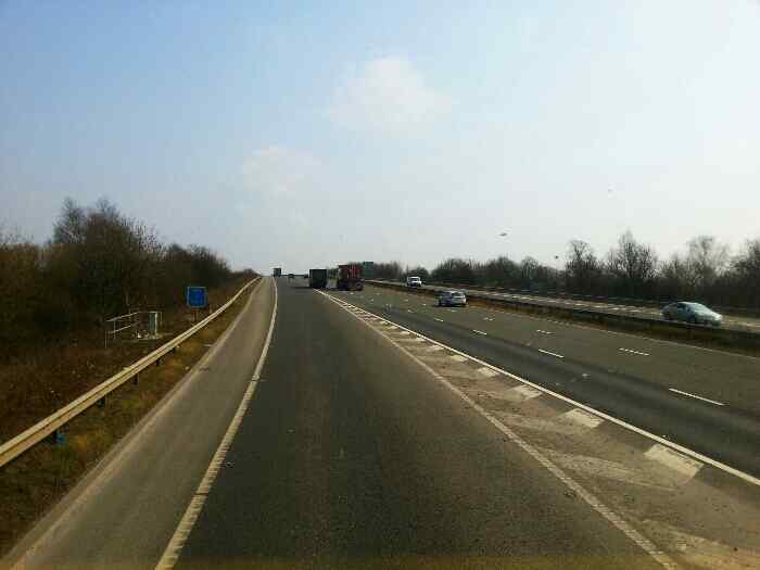 Rejoining the M62