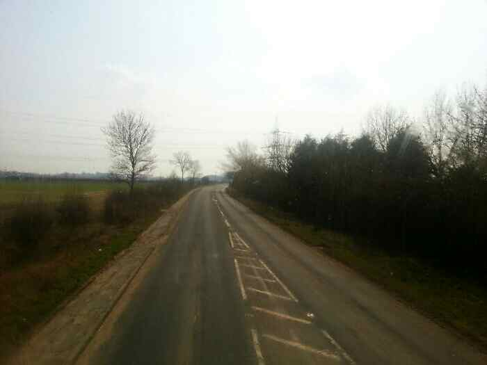 The road into Brough