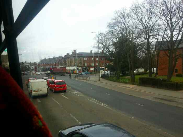 Passing the Crossroads with Cottingham Rd and Clough Road