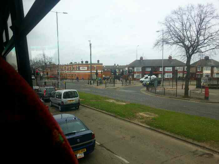 Beverley Rd at the crossroads with Sutton Rd and Greenwood Avenue Kingston Upon Hull