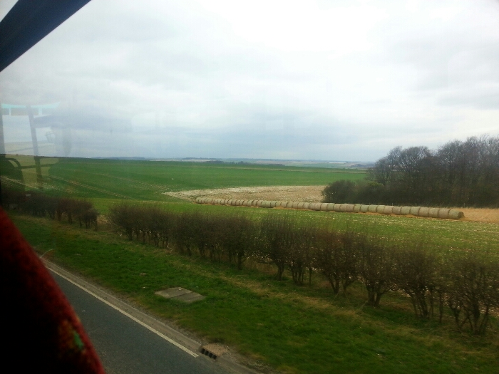 Yorkshire Wolds between Beverley and Market Weighton
