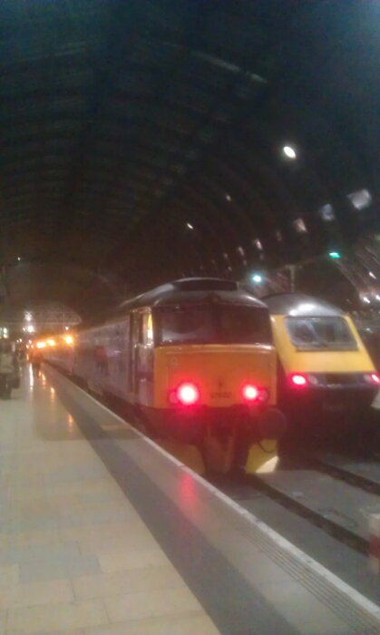 Arrival at London Paddington