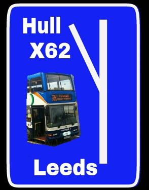 X62 Hull to Leeds