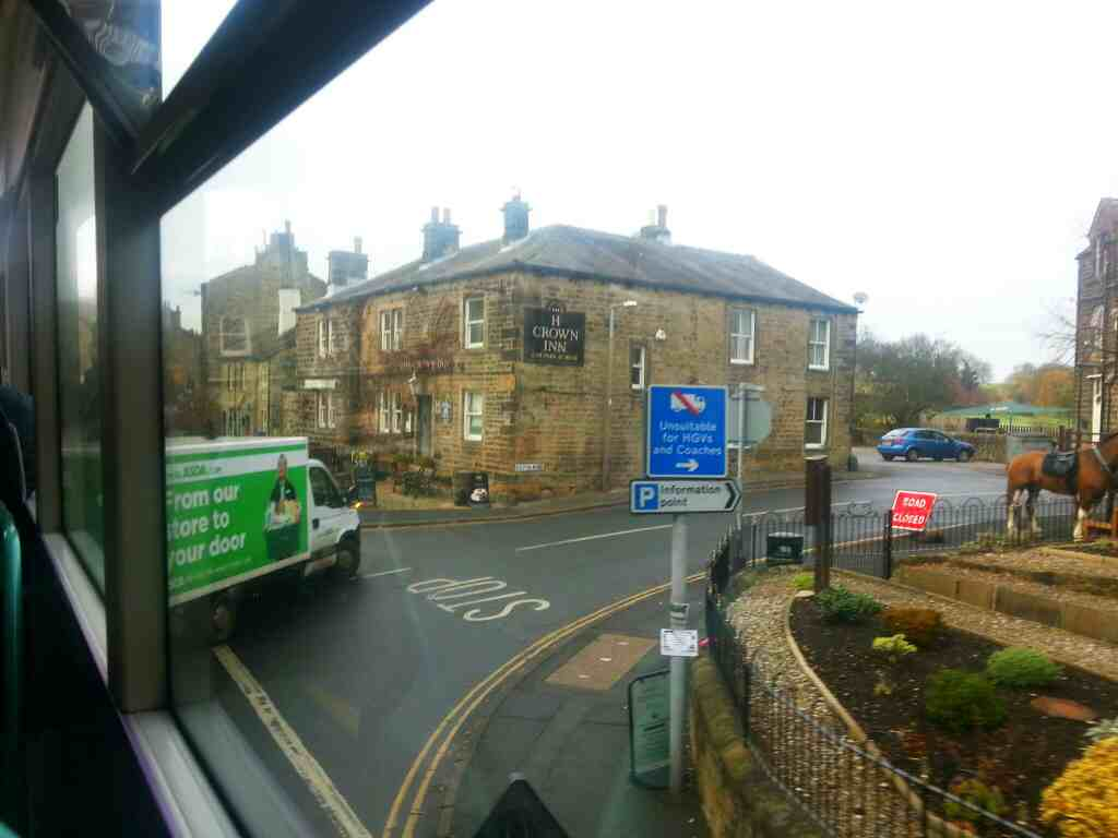 Crown Inn Junction of Main St and Bolton Road Addingham off an X84 bus