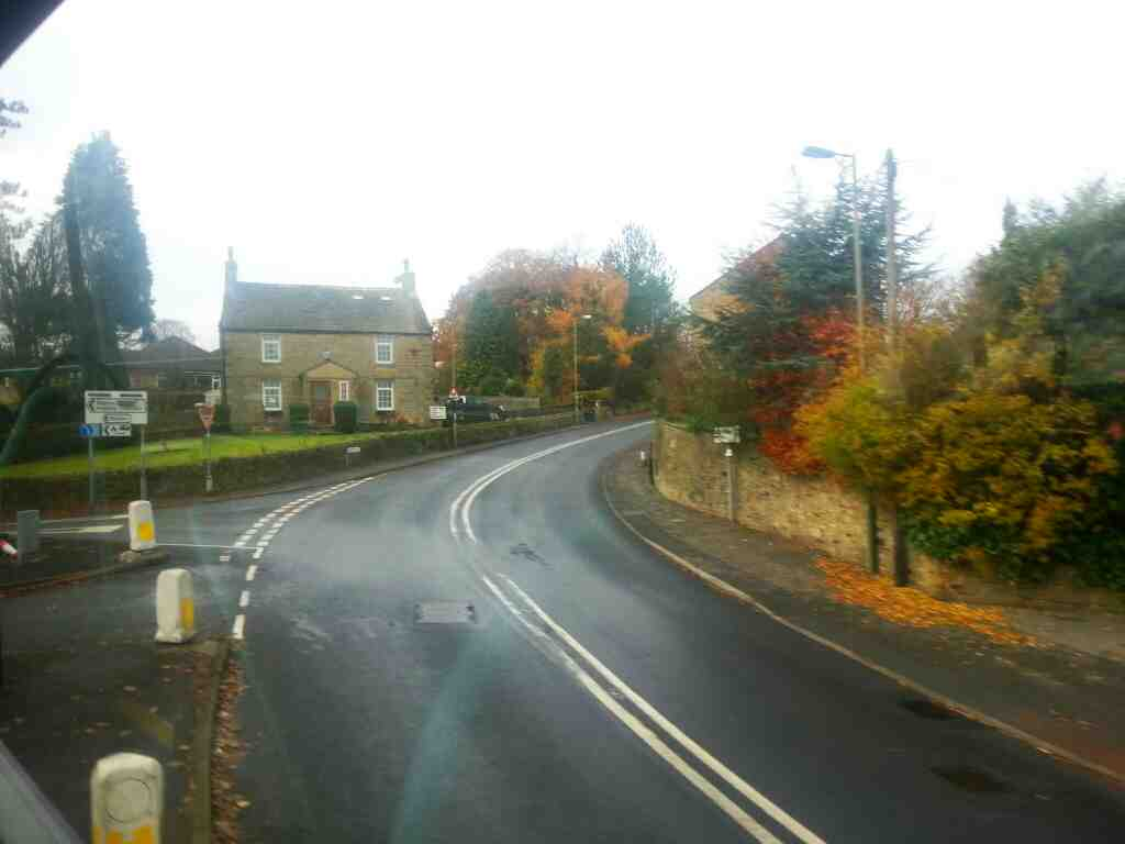 Junction of Main St Silsden Rd and Skipton Rd Addingham off an X84 bus